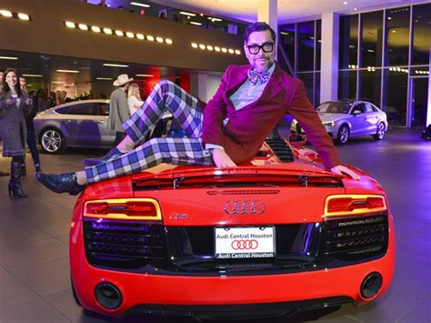 audi of central houston fast cars big guns turn luxury dealership