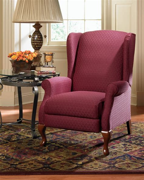 la z boy wingback recliner kimberly high leg recliner town country furniture