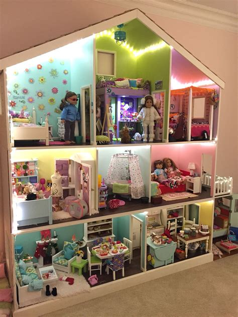doll house themes analysis american girl 3 story dollhouse american girl dollhouses