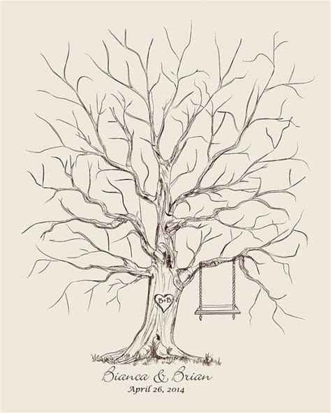thumbprint tree template 25 best ideas about fingerprint wedding on