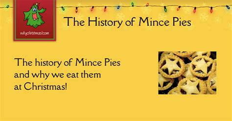 history  mince pies christmas customs  traditions whychristmascom