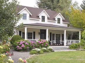 Cape Cod Style House With Porch large wrap around porch cape cod landscaping dehors