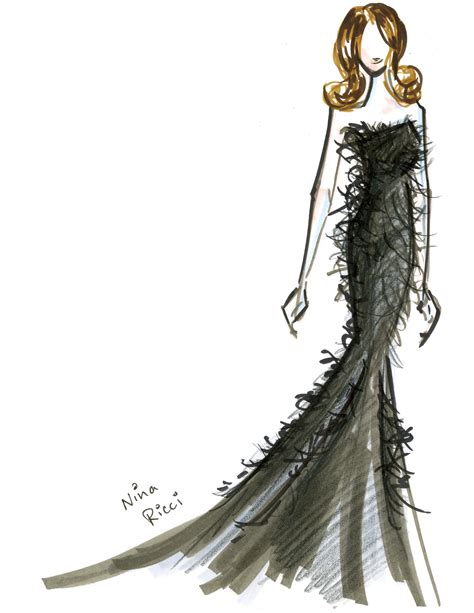 Sketches Clothes by Fashion Illustration Thoughts