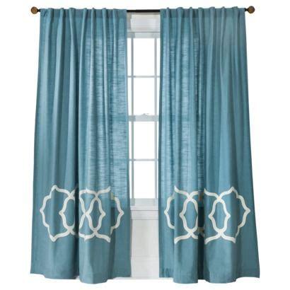 bedroom curtains target window panels window and target on pinterest