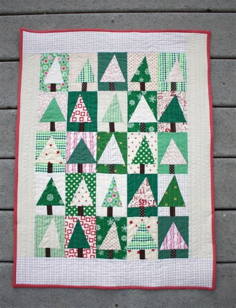 Patchwork Tree - improv modern patchwork tree quilt tutorial