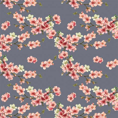 cherry blossom upholstery fabric designer upholstery curtain vintage floral fabric cherry