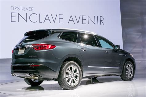 new buick 2018 enclave 2018 buick enclave revealed gm authority