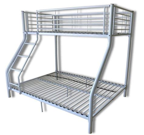 metal bunk bed metal triple bunk beds ebay