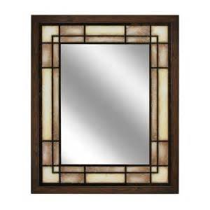 deco mirror 16 in w x 26 in h x 5 in d framed single deco mirror 26 in w x 32 in h tea glass rectangle wall
