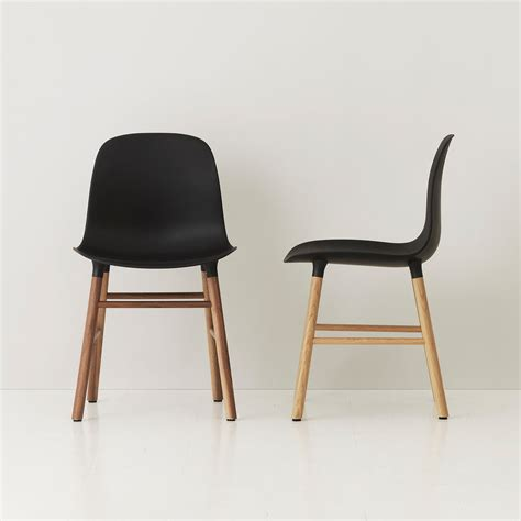 design form chairs form chairm wood legs by normann copenhagen