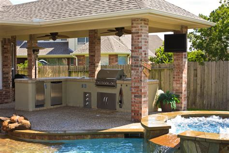 backyard designs with pool and outdoor kitchen backyard designs with pool and outdoor kitchen extraordinary interior design ideas