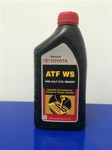 Toyota Atf Ws Toyota And Lexus Transmission Fluid Replacement