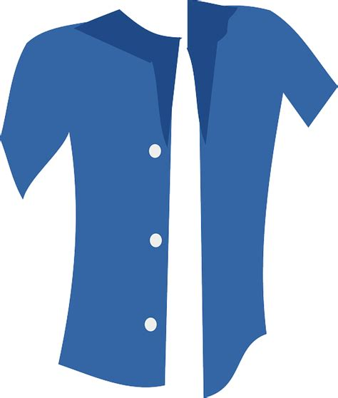 Kemeja Polos Type A Biru Turkish free vector graphic clothes shirt blouse buttons