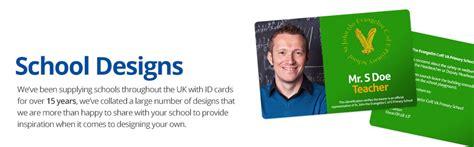 id card logo design school id cards printed with your school logo information