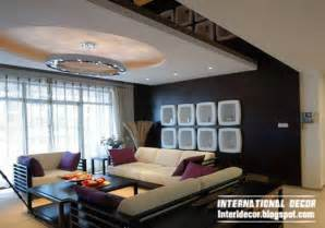 Designs Of False Ceiling For Living Rooms 10 Unique False Ceiling Modern Designs Interior Living Room International Decoration