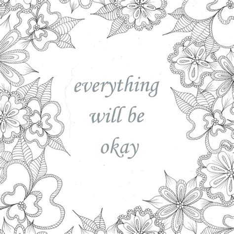 here s the deal everything a coloring book journal for adults books everything will be okay enlightened coloring