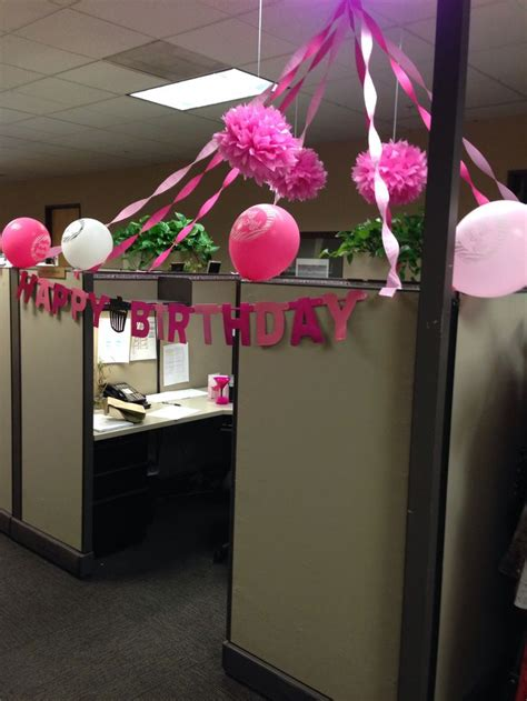 Office Desk Birthday Decoration Ideas Birthday Cubicle Decorating Ideas Birthdays Another