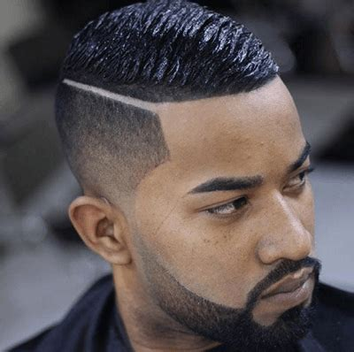 black male black hair faded back faded sides 60 haircuts for black men in 2016