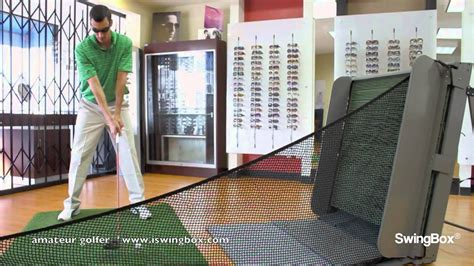 Best Small Home Practice Golf Net Golf Nets Driver Use With Swingbox Indoors