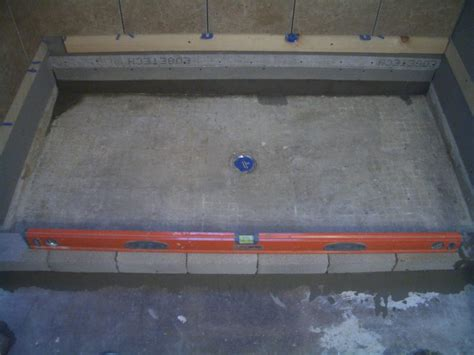 build a floor how to build a shower pan on a concrete floor houses