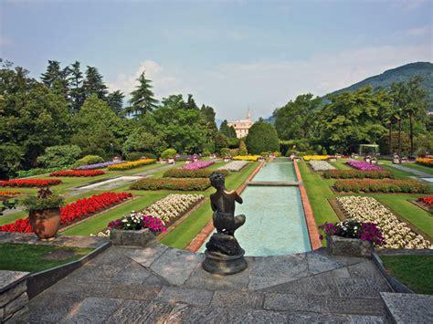 giardini terrazzati i giardini di villa taranto serre aiuole floreali e gli