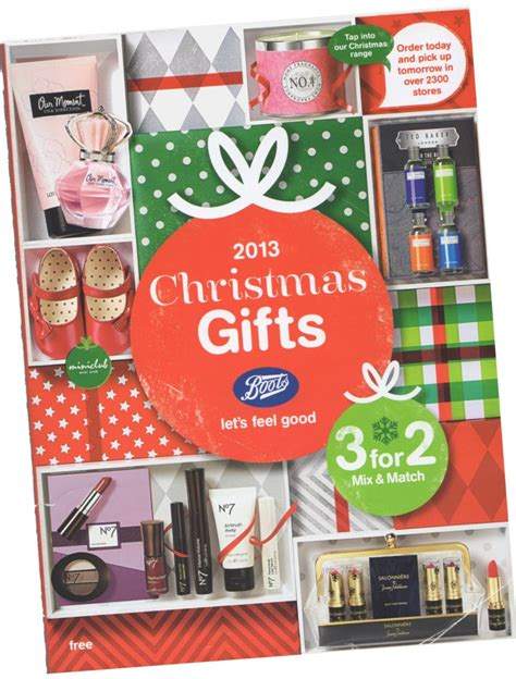 boots 2013 christmas gift catalogue guide