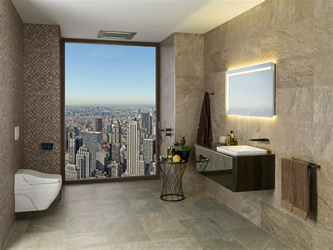 best new bathroom designs cersaie 2015 best in bathroom design nature in the new