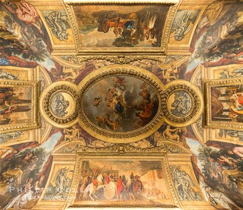 Ceiling Paintings by Chateau Versailles Ceiling Paintings History