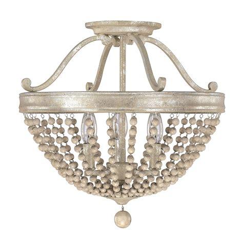 wood bead light fixture capital lighting fixture company adele silver quartz three