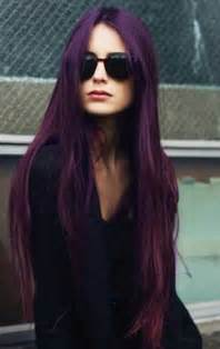 black with purple colour in their hair 2015 hair color ideas long hairstyles 2015 long