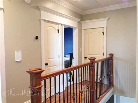 Home Interior Paint Colors by The Painting Begins The Hall Way
