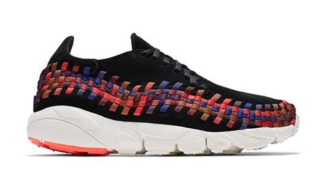 Sepatu Nike Air One Rainbow Sole nike air footscape woven quot black rainbow quot 2016 nike sole collector