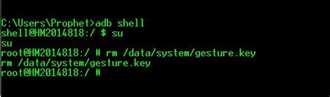 pattern lock remove adb command how to unlock bypass or remove android pattern