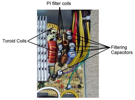 capacitor filter output how a switchmode power supply works
