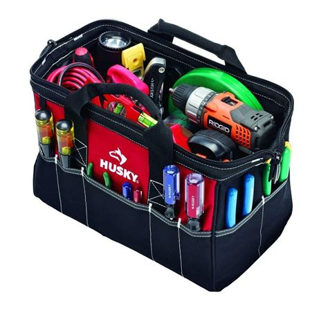 husky 15 in tool bag 82035n12 the home depot
