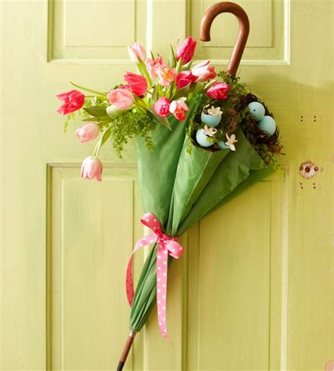 diy easter  spring door decorations