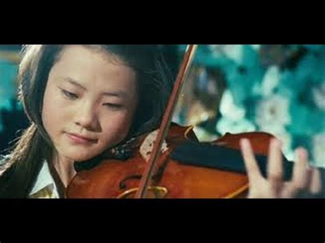 karate kid chinese girl me wenwen han play violin in the karate kid youtube