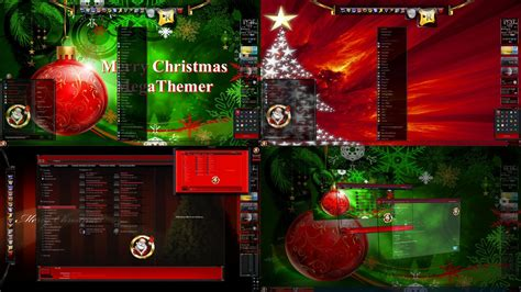 christmas wallpaper themes windows 7 merry christmas everyone desktop theme for win 7 by