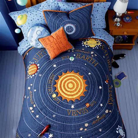 solar system bedroom decor quot for jordan my little kids bedding blue solar system quilt the land of nod