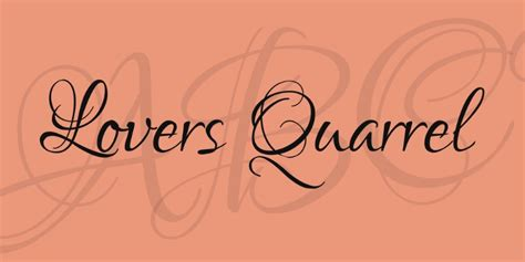 tattoo fonts lovers quarrel 20 valentine day themed fonts for designing cards and