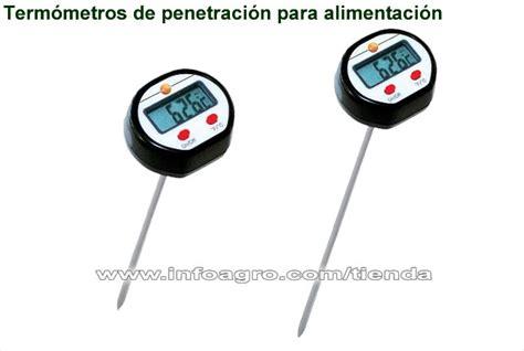 termometro de pincho testo ts  alimentos piscinas  tienda