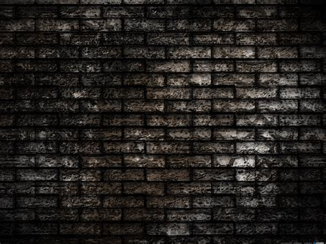 dark walls grunge brick wall background psdgraphics