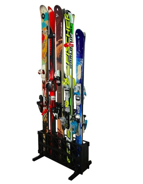 Freestanding Ski Rack by Freestanding Ski Rack Storeyourboard
