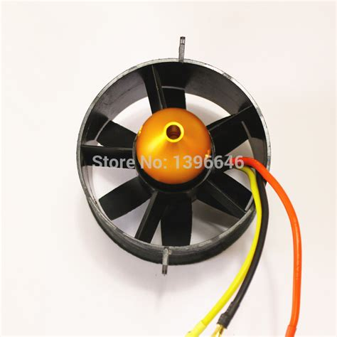 Dynam 6 Blade Fan For 64mm Ducted Fan Buy B4074 90mm Edf Ducted Brushless Rc Motor Sensorless