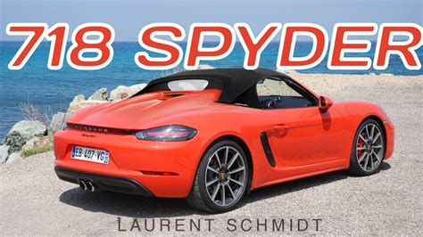 Porsche 718 Spyder by Porsche 718 Spyder