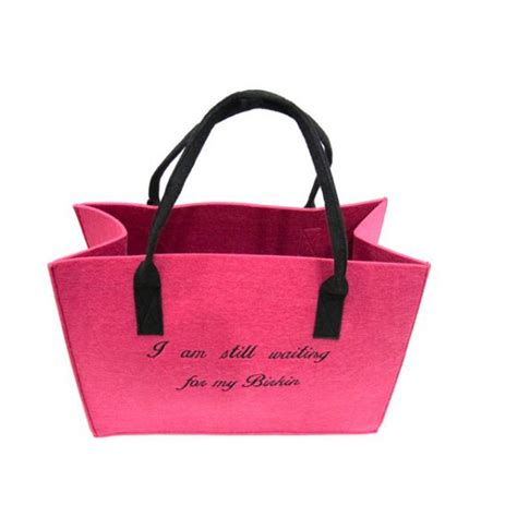 Im Still Here In My Bag by Bag Quot I M Still Waiting For My Birkin Quot Pink