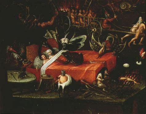 libro hieronymus bosch painter and herri met de bles hell detail of a couple in bed 16th century netherlands venice palazzo