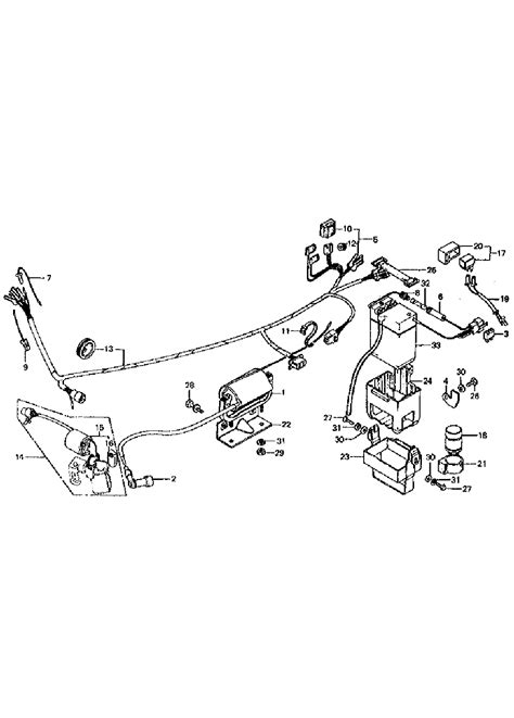 1979 honda trail 70 wiring wiring diagram with description