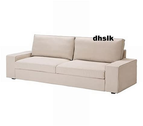 ikea sofa bed slipcover ikea kivik sofa bed slipcover cover ingebo light beige