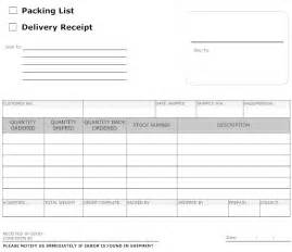 doc forms templates doc 800612 doc25503300 delivery document template